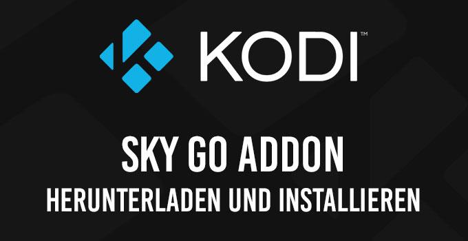 Sky Go Kodi