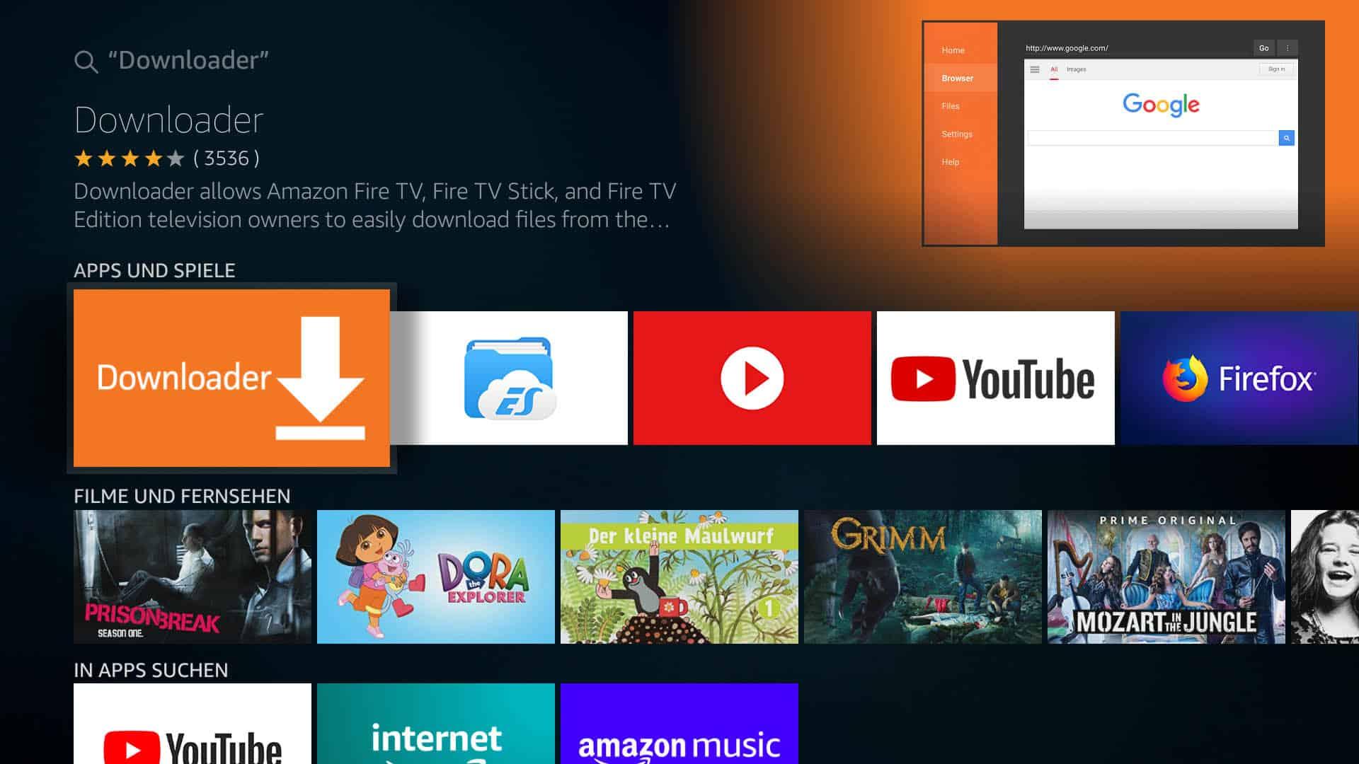 Kodi auf Amazon Fire TV installieren - so einfach gehts!