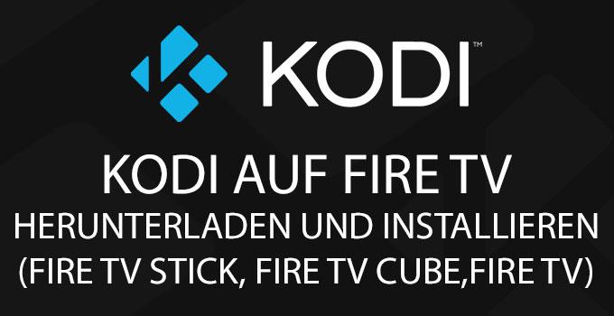 Fire Tv Mit Kodi